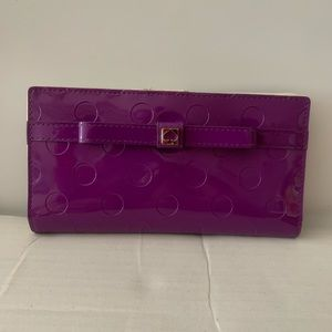 Kate Spade Wallet  Beautiful Purple Patent leather